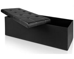Pufa tapicerowana Seatbox czarny