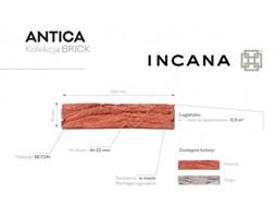 Kamień dekoracyjny, płytka betonowa – Incana Antica 0.5 m2