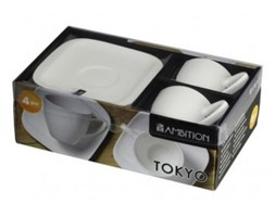 Komplet kawowy AMBITION Tokyo 4 el.