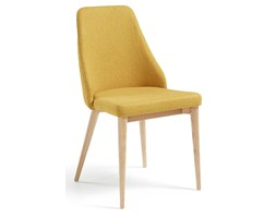 Krzesło Vela musztardowe
