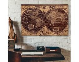 Drewniany obraz z motywem Orbis
