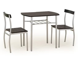 Stół do jadalni Lance + 2 krzesła wenge