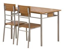 Stół kuchenny Natan + 4 krzesła orzech