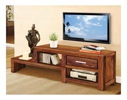 drewniany stolik / szafka RTV z szufladą