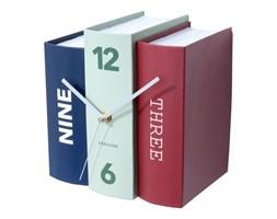 Karlsson :: Zegar stołowy Book wielokolorowy