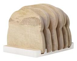 Hk Living :: Talerze drewniane + stojak