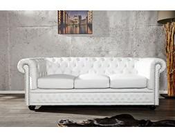 Sofa Chester White 3-osobowa