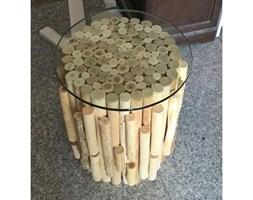 KARE Design :: Stolik Timber Nature Visible 38 cm