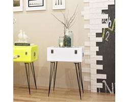 243167 vidaXL Szafka w kształcie białej walizki 40x30x57 cm