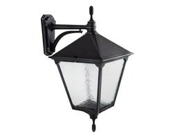 RETRO SQUARE kinkiet 1 x 60W E27 lampa ścienna zewnętrzna metalowa stylowa czarna duża SUMA K 3012/1/BD KW