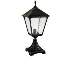 RETRO SQUARE lampa stojąca 1 x 60W E27 słupek ogrodowy metalowy czarny stylowy duży SUMA K 4011/1/BD KW