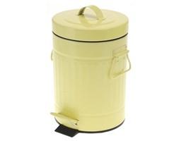 Kosz na śmieci 3L - żółty