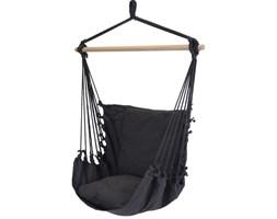 Krzesło hamakowe z siedziskiem, czarny