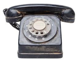 Skarbonka Telefone Seventies czarna