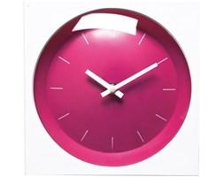Zegar Pop Square różowy