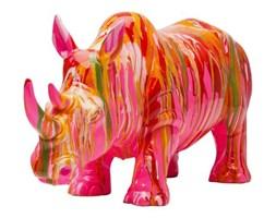 Figurka Dekoracyjna Rhino I kolorowa II