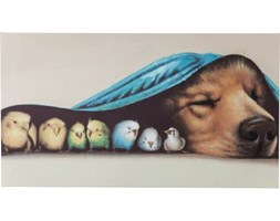 Obraz Touch Dog and Birds
