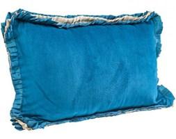 Poduszka Frill Uni Niebieska