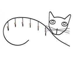 Wieszak metalowy kot Rosenholm
