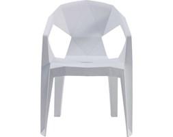 Krzesło Geometrical Białe
