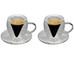 Szklanka termiczna espresso 2x70ml, OD RĘKI. Tel. 570 31 0000