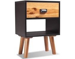 243176 vidaXL Szafka nocna z drewna akacjowego 40x30x45cm