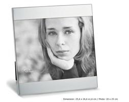 Ramka na zdjęcie Zak, 20 x 25 cm, matowa - PHILIPPI  - DECOSALON - 100% zadowolonych klientów!