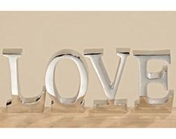 Zestaw 4 dekoracyjnych napisów Boltze Love
