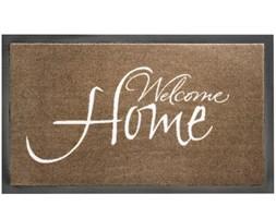 HT Welcome Home Taupe 45x75cm door mat