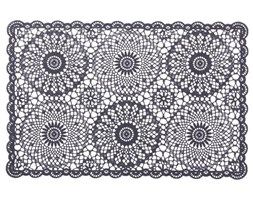 VI French Lace Grey 30x45cm place mat