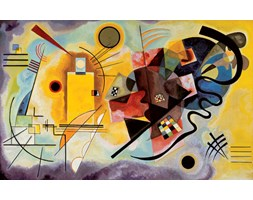 Reprodukcja Kandinsky - Yellow Red Blue, (80 x 60 cm)