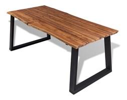 242364 vidaXL Stół do jadalni 180x90cm z drewna akacjowego