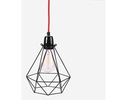Filamentstyle :: Lampa Diamond #1 czarno/czerwona