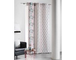 ZASŁONA DOUCEUR - Simply Mint&Pink 140x240
