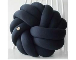 Poduszka supeł knot pillow NEST granatowy