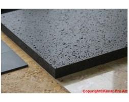 blat bazaltowy grafitowy szlifowany pod umywalkę zlew Bazalt 60x120x5