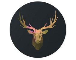 Portret jelenia, Deco Panel - okrągły