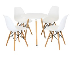 SK DESIGN Set- Table FI 80 + 4 chairs KR012