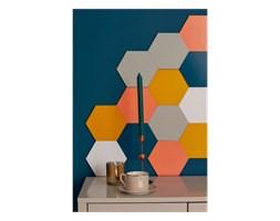Panel ścienny hexagon szary - nuki