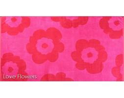 Ręcznik plażowy Greno Love Flowers