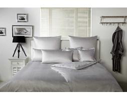 Pościel satynowa Elegante Bristol Silver 100% bawełna
