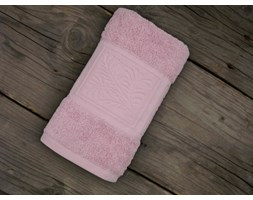 Ręcznik bawełniany Greno Ecco Bamboo Różowy
