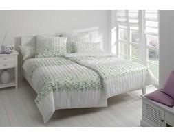 Pościel satynowa Elegante Summer Garden Green 100% bawełna