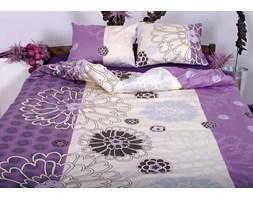 Pościel satynowa Andropol Gabrielle Purple 100% bawełny