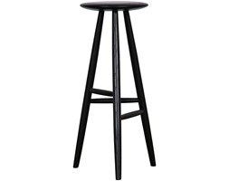 HP Ridge Black 40x40x75cm stool