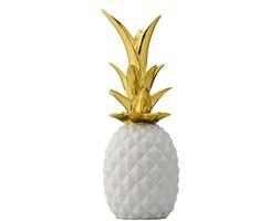 Ananas Bloomingville -biały/złoty