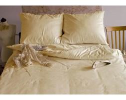 Pościel satynowa Andropol Ecru 100% bawełny