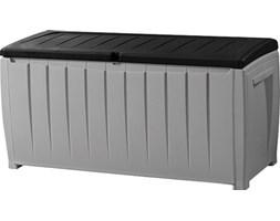 KETER Skrzynia ogrodowa KETER Novel Storage Box 340L Szaro-czarny  210381