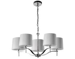 Żyrandol LAMPA wisząca GRACE 3339 Zumaline abażurowa OPRWAWA zwis chrom biały