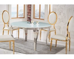 Stół ESTILLO GLAMUR ROUTE WHITE 120'